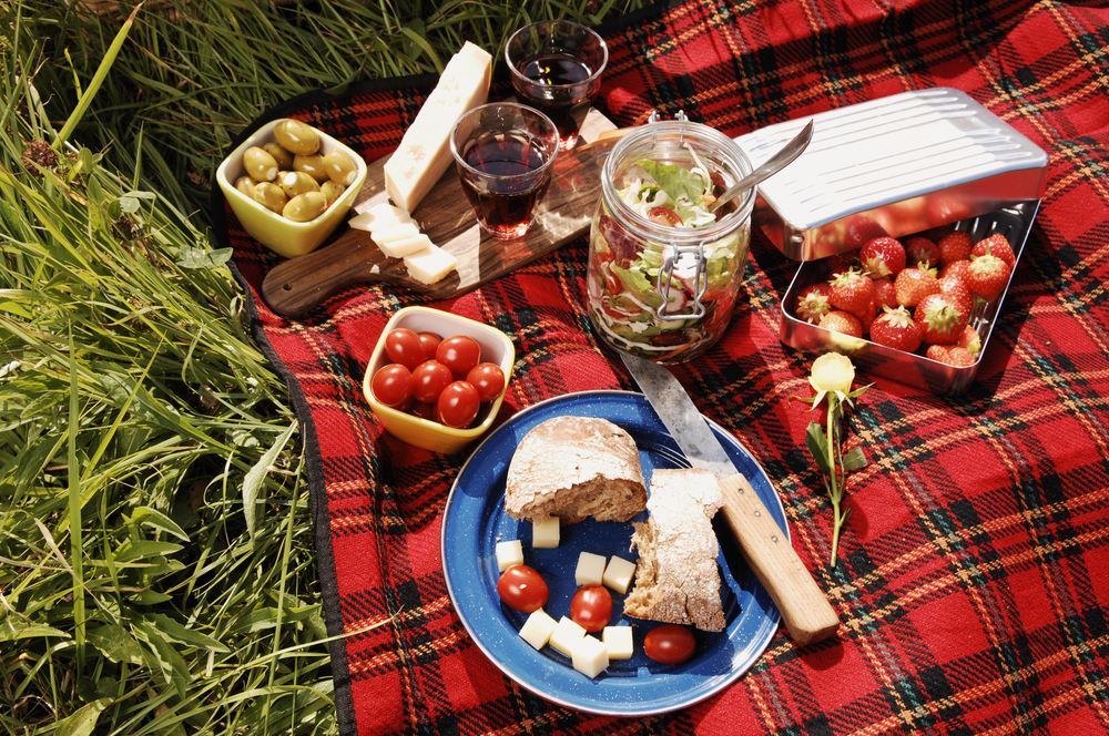 come organizzare un picnic di Pasquetta light