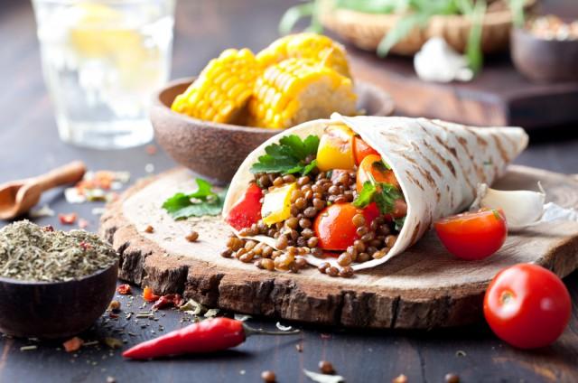 dimagrire vegetariano con Melarossa