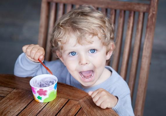 gelato nella coppetta