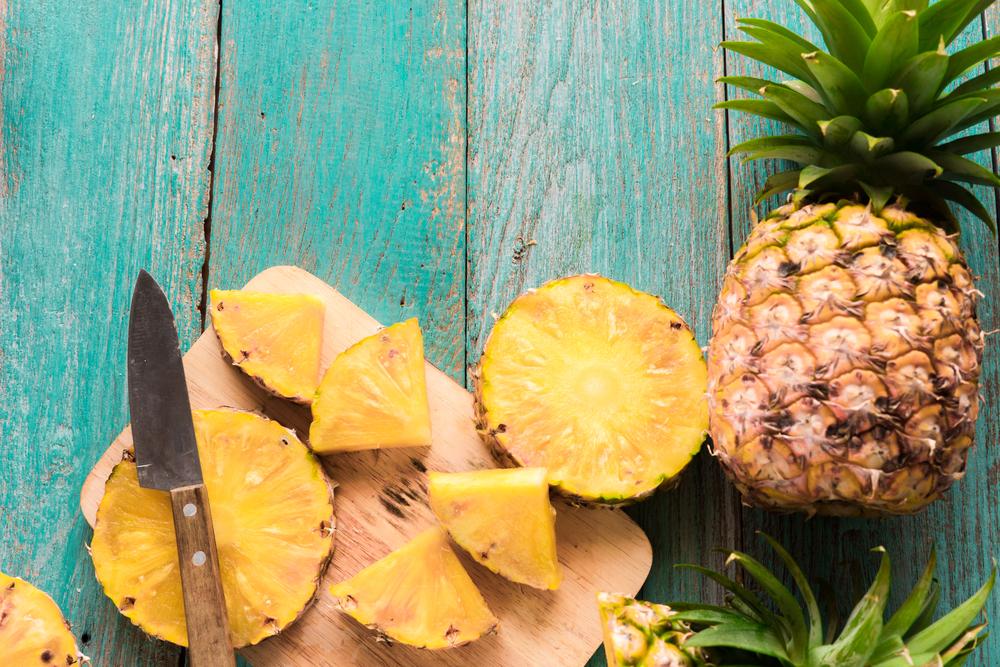 ritenzione idrica: ananas