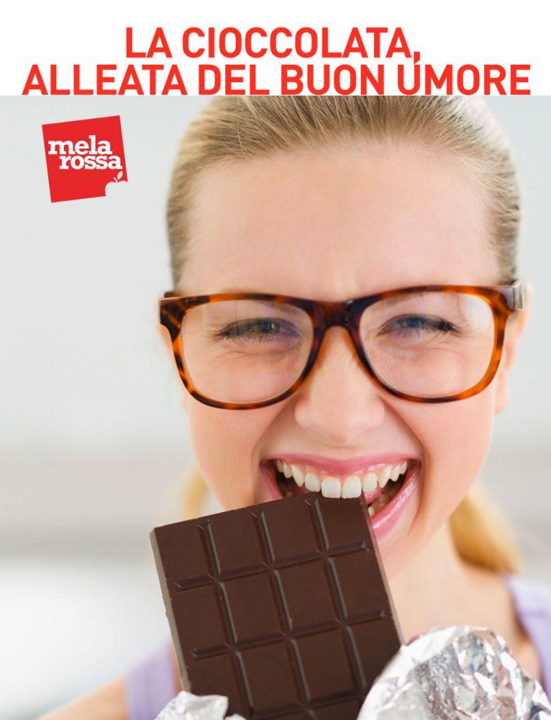 I cibi antistress: la cioccolata fondente