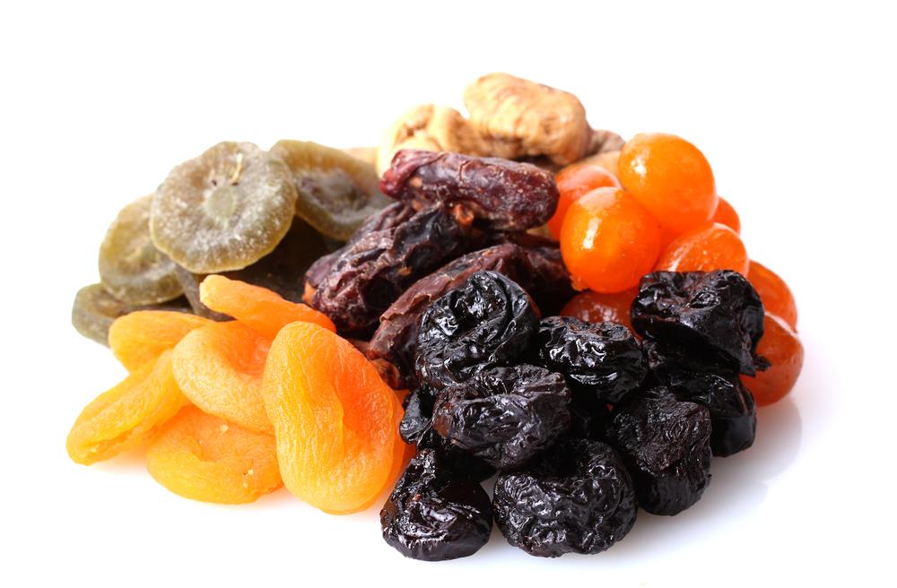 Frutta essiccata. La frutta secca ti ricarica di energia