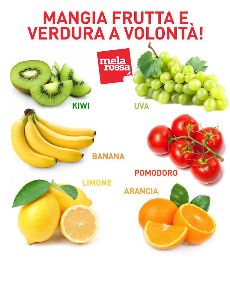 I cibi antistress: frutta e verdura