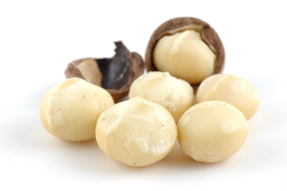 Noci di macadamia. La frutta secca ti ricarica di energia