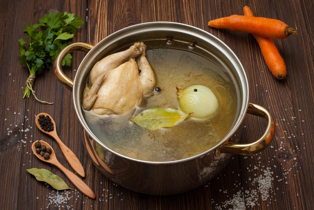 come conservare tuo brodo di pollo