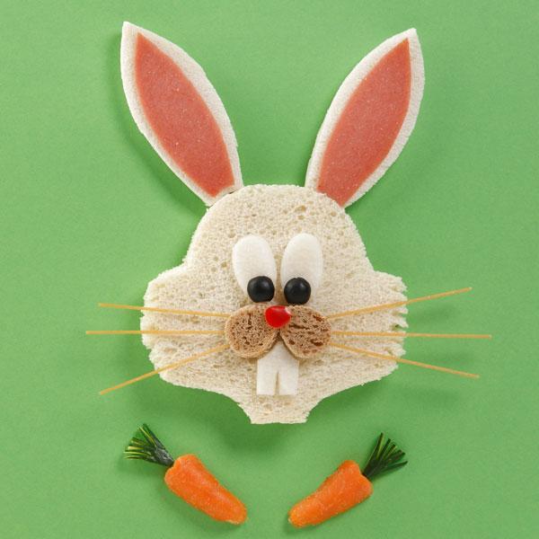 Bugs Bunny di pane per Carnevale