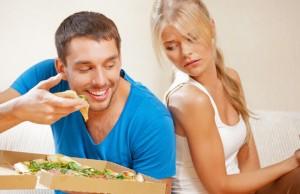 come fare se tu sei a dieta e la tua famiglia no?