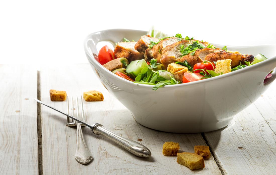 ricetta insalata di pollo light