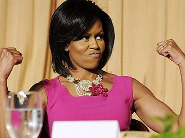 muscoli Michelle Obama