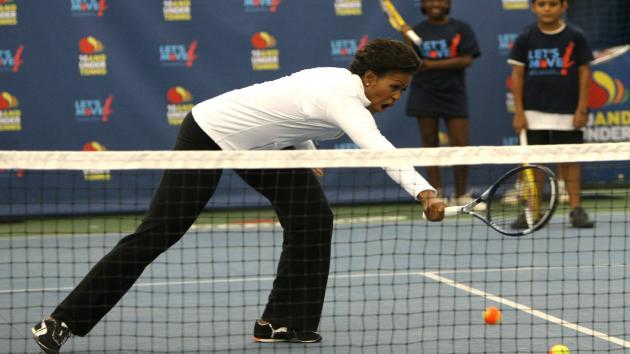 tennis Michelle Obama