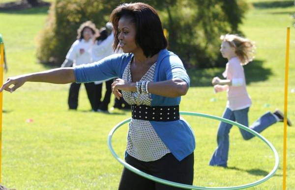 ula hop Michelle Obama
