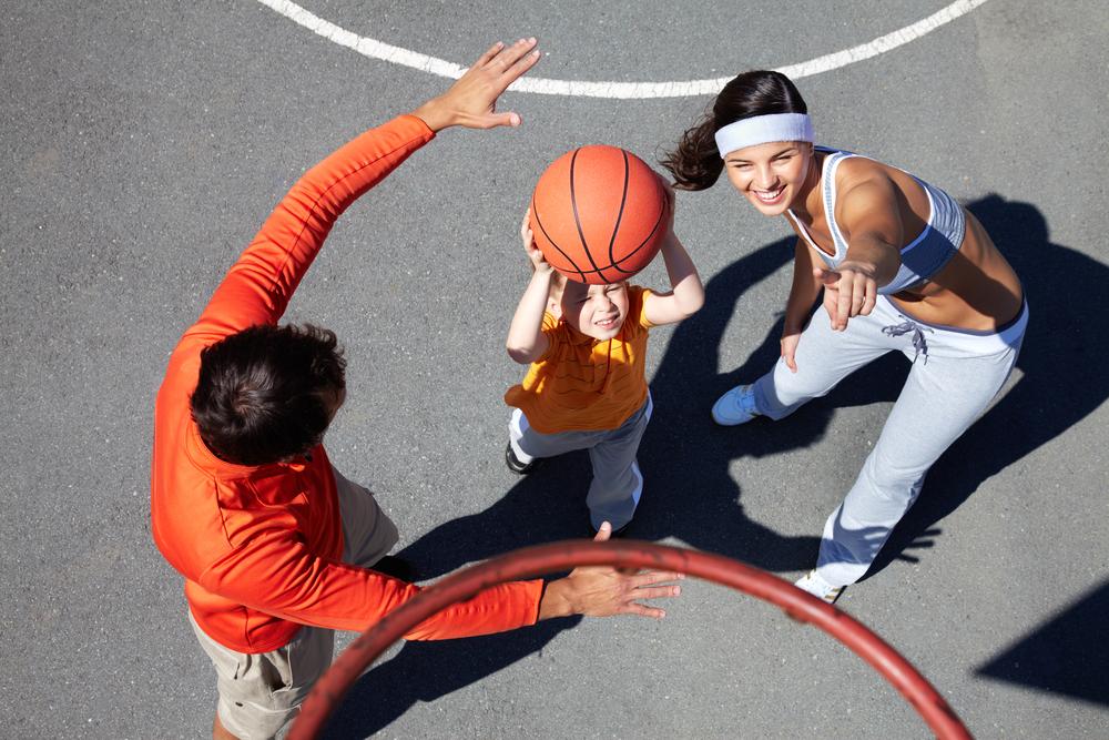 basket da fare con tuo figlio