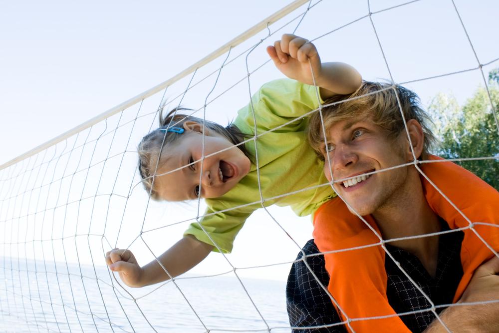pallavolo da fare con tuo figlio