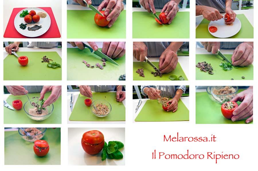 ricetta pomodoro ripieno light