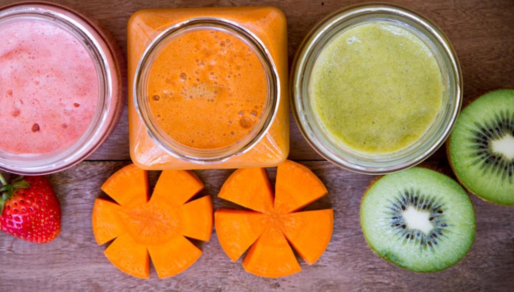 Smoothies, i frullati del benessere. smoothie carote e kiwi