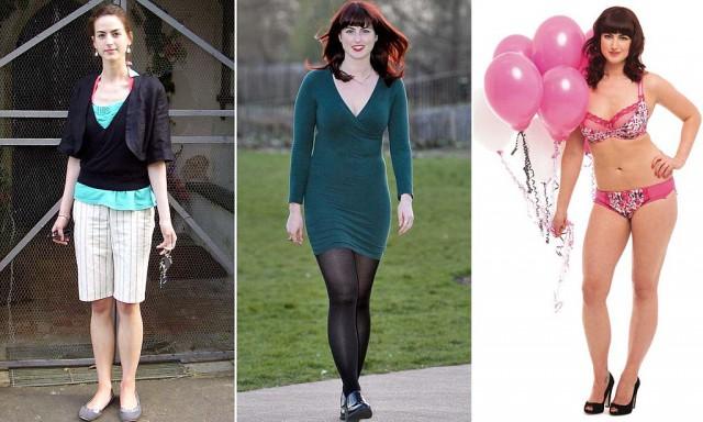 Alice Jackson: da anoressica a modella curvy