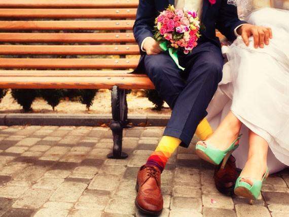Non stressarti per entrare nell'abito da sposa