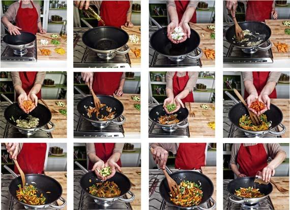 ricetta spaghetti di soia con verdure step 1