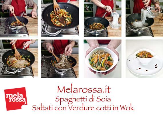 ricetta spaghetti di soia con verdure step 2