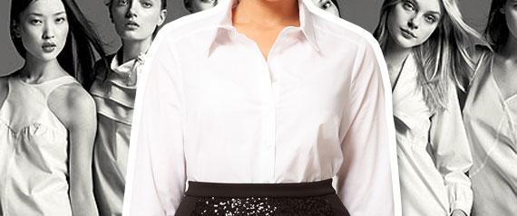 slider camicia bianca