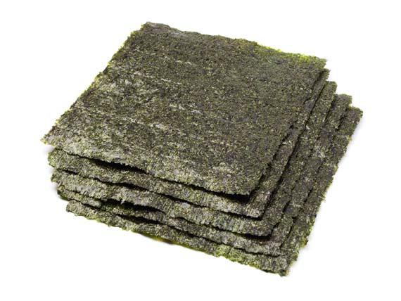 Nori. Alghe, alimenti ricchi di salute