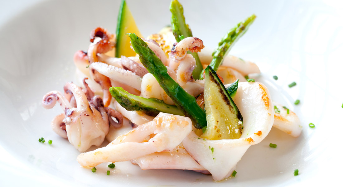 Ricetta insalatina di seppie e asparagi