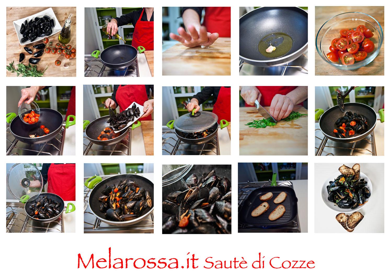 ricetta sauté di cozze step by step