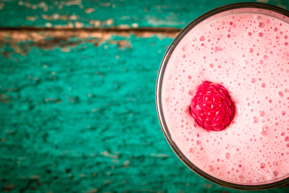 smoothie rosa delle star