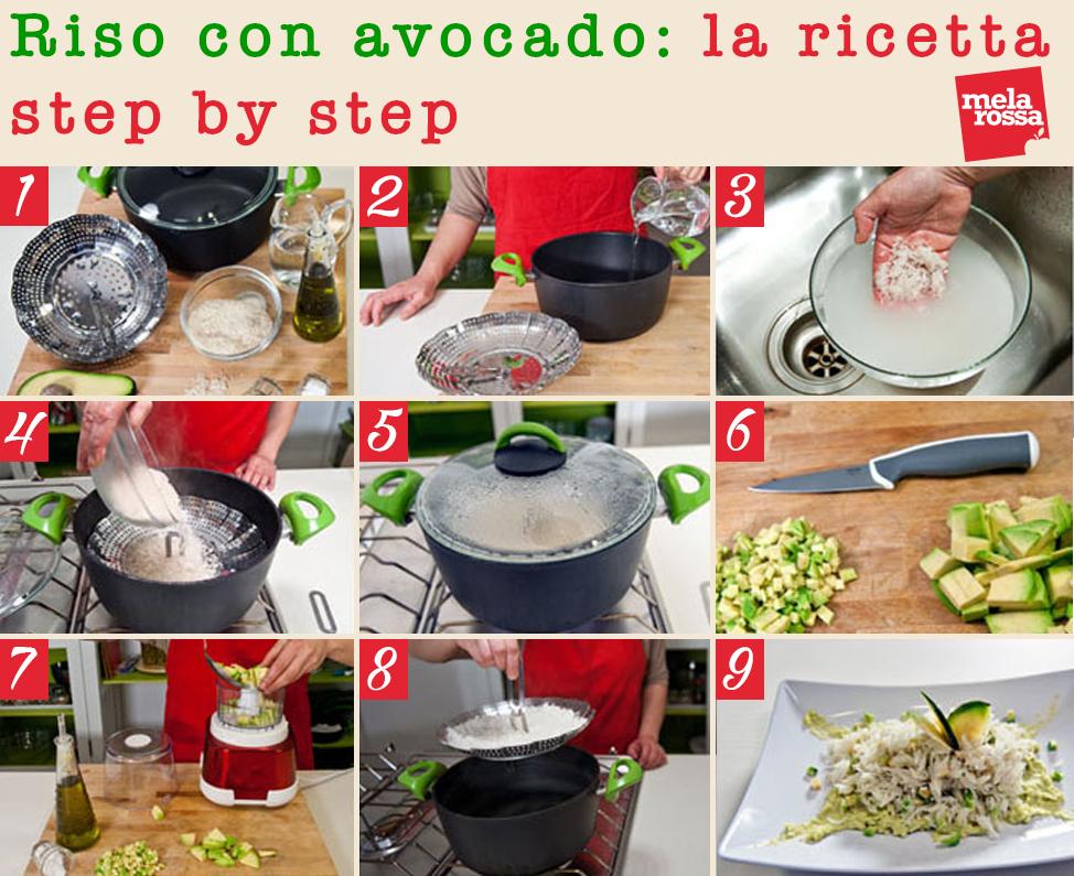 riso con avocado, una ricetta nutriente e golosa