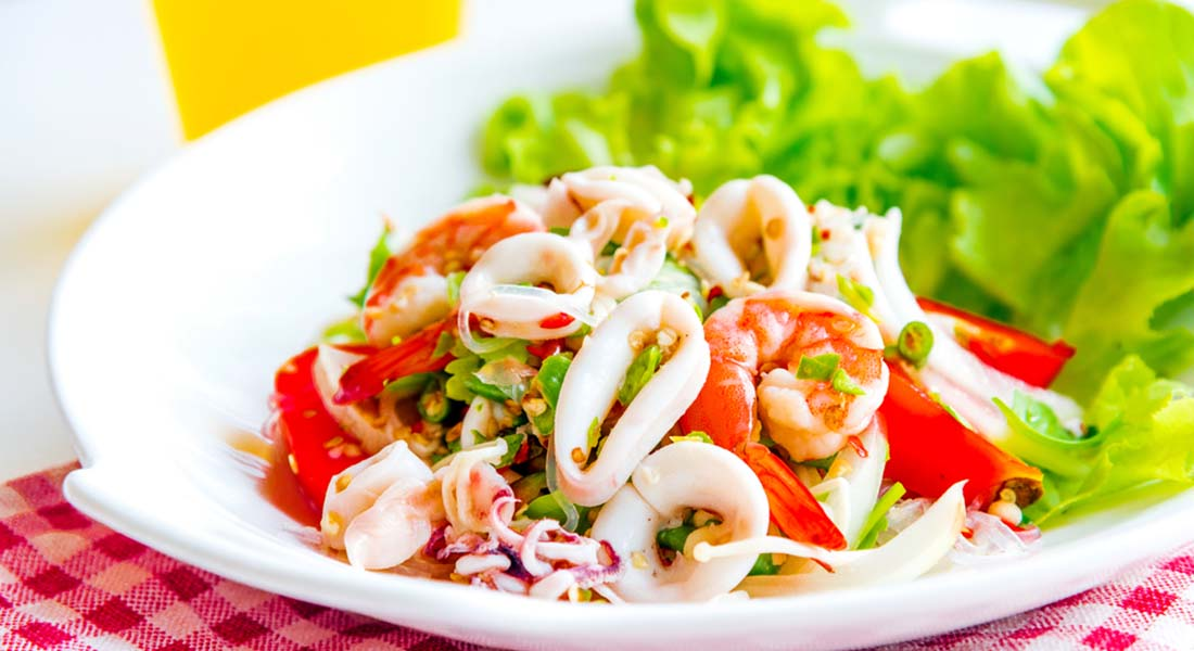 ricette con peperoni insalata di seppia