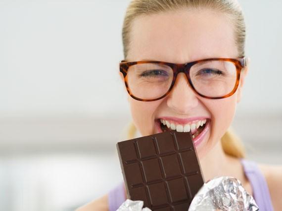 Cioccolato. I cibi che potenziano l'intelligenza