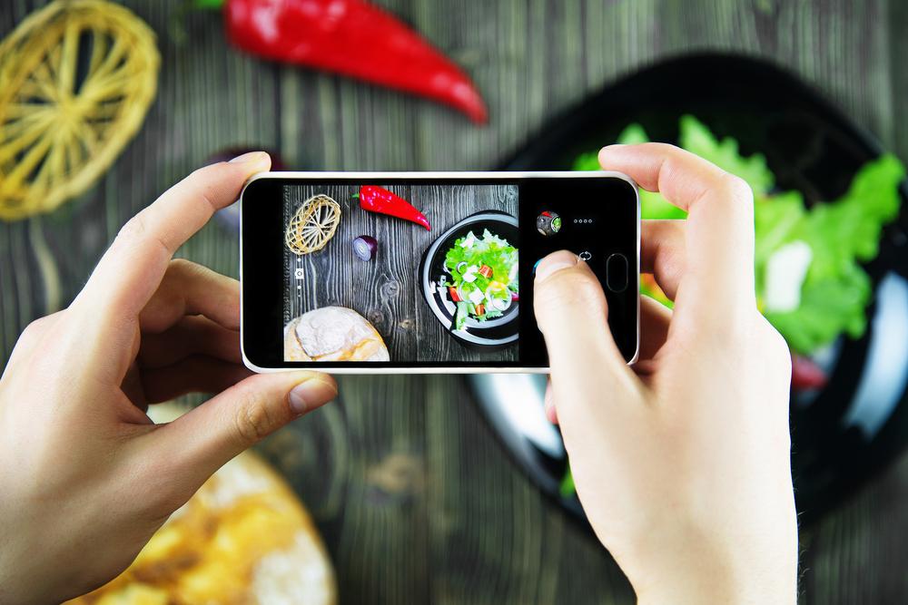 fotografare i tuoi piatti