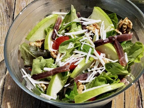 6 panini e insalate per variare la tua dieta! insalata speck e mela verde
