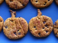 ricetta dei Ricetta dei frollini alla zucca e gocce di cioccolato