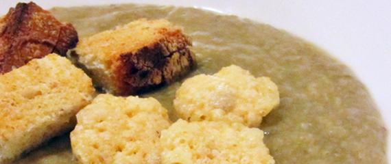 ricetta della crema di funghi Champignons