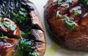 ricetta champignons alla griglia