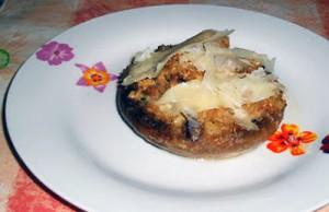 La ricetta deii funghi ripieni di tonno