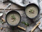 ricetta vellutata di funghi
