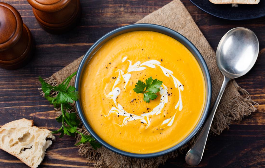 Ricette zuppe vellutate: zucca