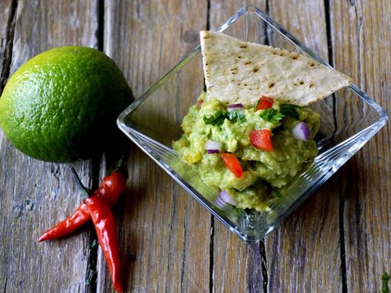 guacamole in verrina