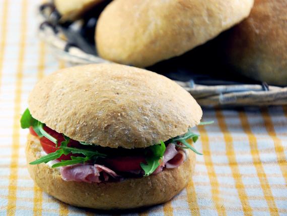 Profumo di pane! panini integrali