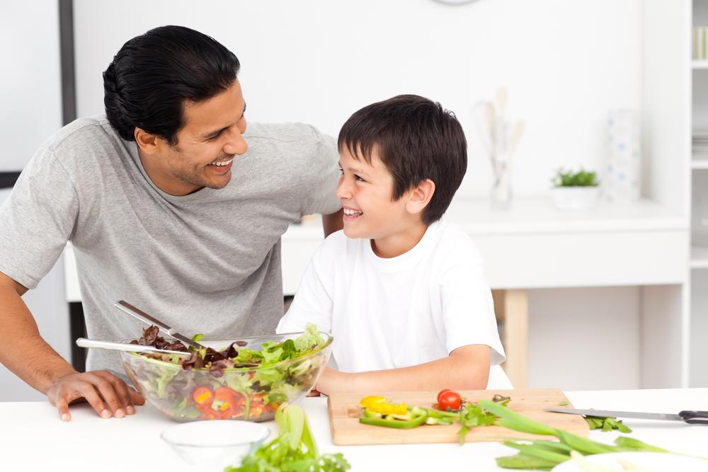 festa del papà cura l'alimentazione