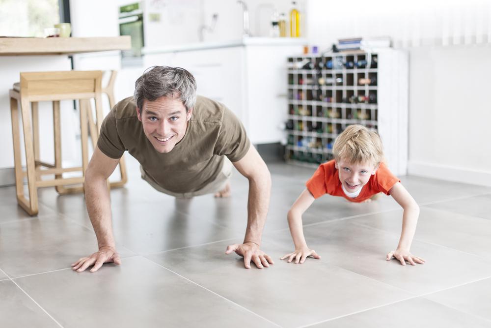 festa del papà fai attività fisica regolare