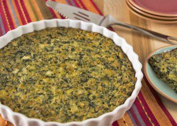 Sformato di quinoa con ricotta e agretti