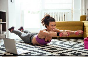 poco tempo per lo sport allenati a casa