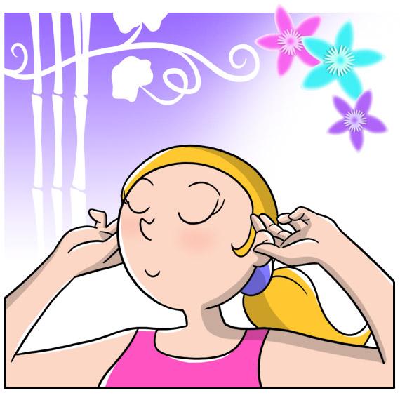 Sciogli lo stress con il massaggio fai-da-te, massaggio orecchie