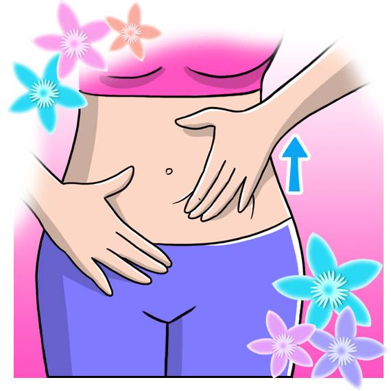 Sciogli lo stress con il massaggio fai-da-te, massaggio alla pancia