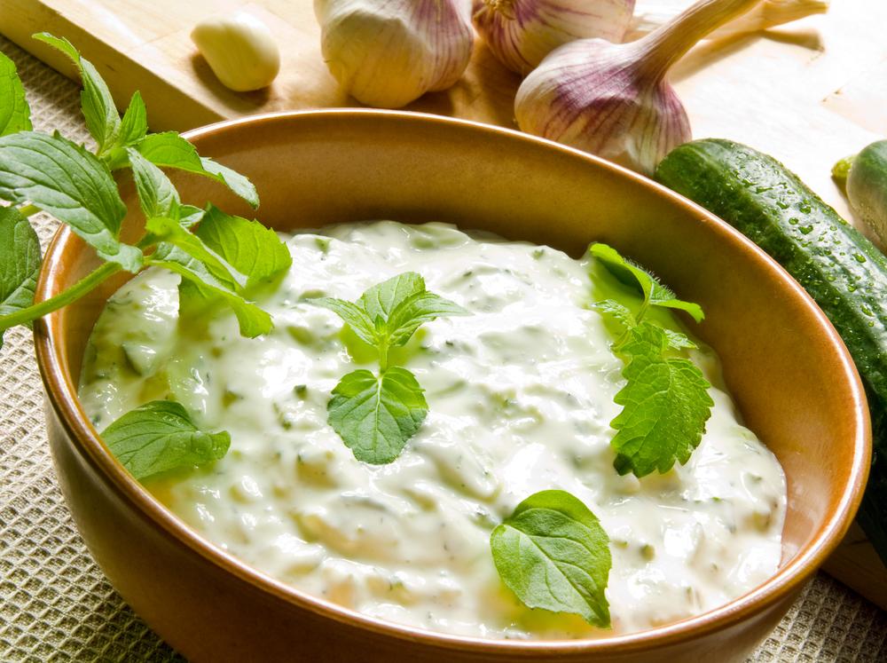 ricetta light salsa tzatziki