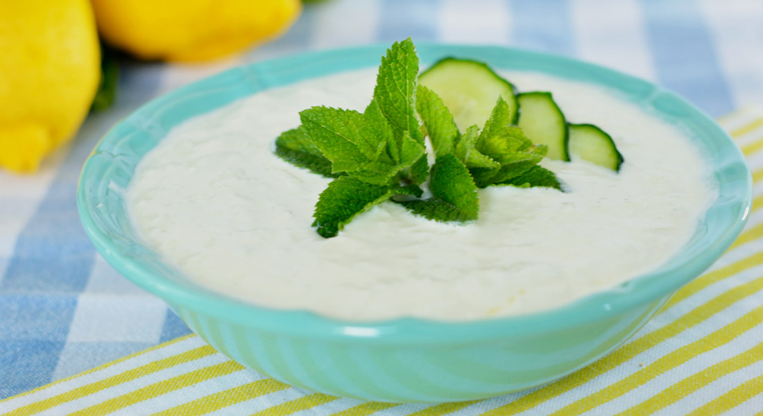 Salsa tzatziki light