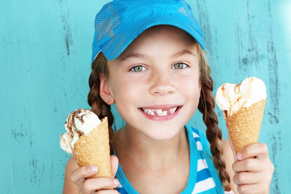 bambini, consigli per non ingrassare d'estate